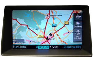 Audi A7 - Reparatur Multimedia-Interface/MMI - Navimonitor