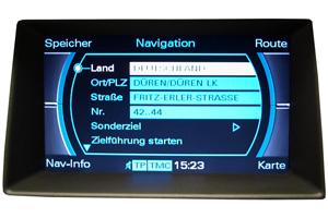 Audi A7 - Multimedia-Interface - Navimonitor Defekt
